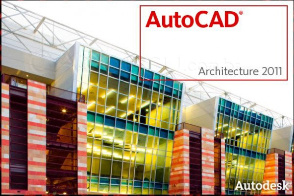 Tela de abertura do Autocad Architecture 2011