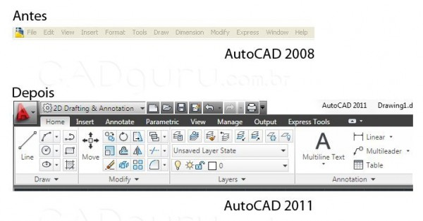 where is application menu in autocad