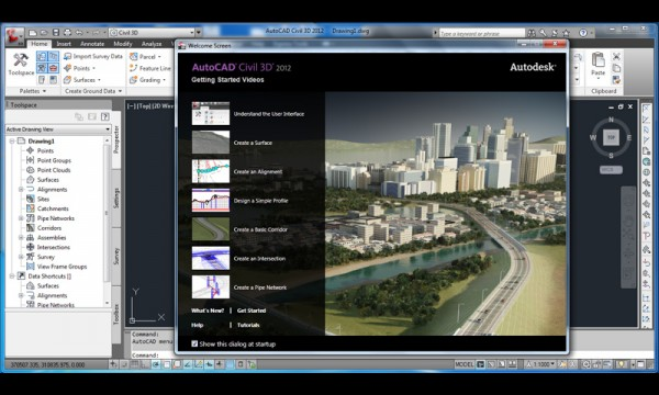 O AutoCAD Civil 3D 2012