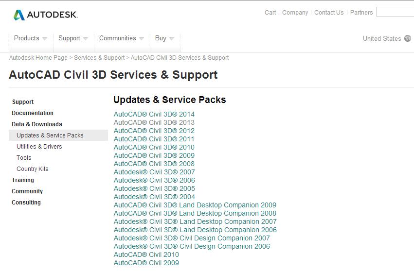 Suporte Autodesk