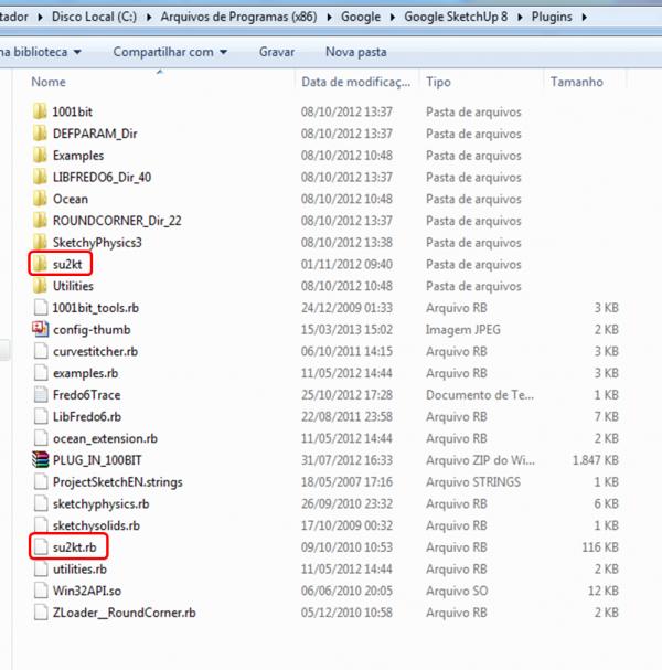 Plugins SketchUp SU2KT kerkythea Exporter