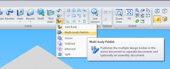 "Comando ""Multi-body Publish"""