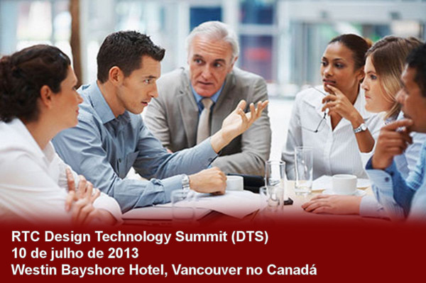Design Technology Summit (DTS), em Vancouver (Canadá)