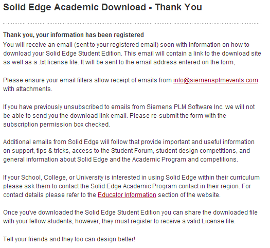 solide edge student download