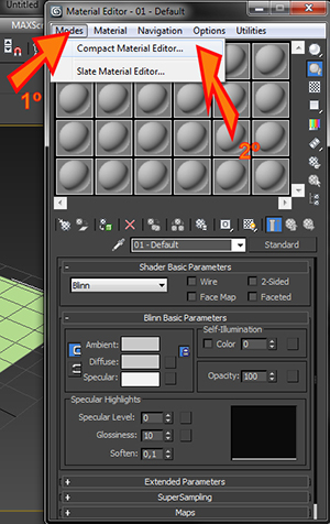 Como colocar a Interface antiga do 3ds max?