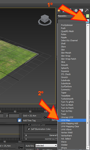 Como aplicar um UVW Map no 3ds Max?