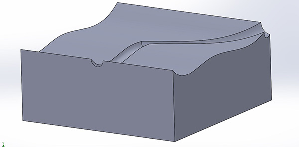 Sweep em face curvada no SolidWorks 2013