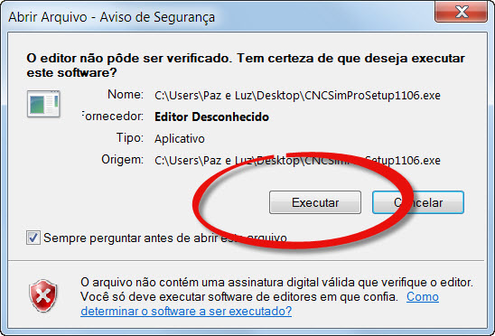 Executar o download