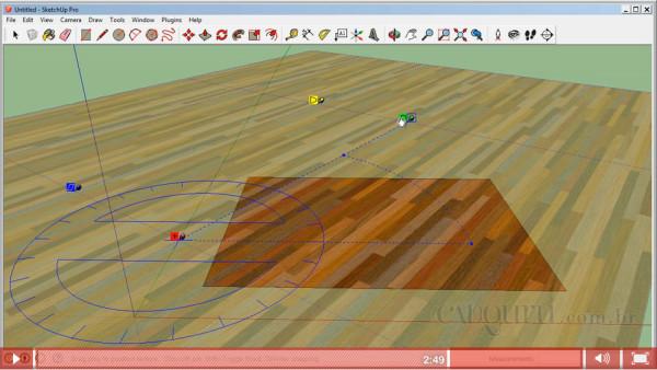 aprenda a rotacionar uma textura no sketchup 2013