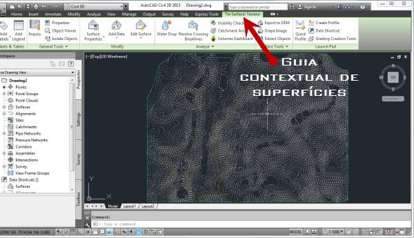 guia de contexto de superficies