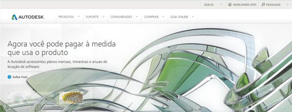 pagina da autodesk