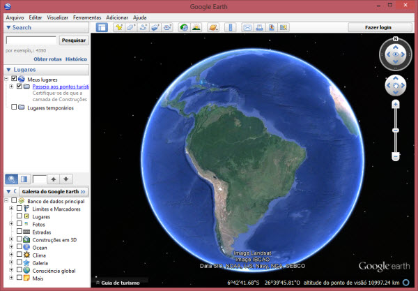 superficies do google earth