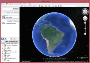 Imagens do google earth