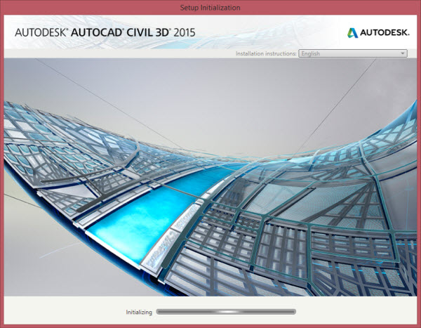 instalacao do civil 3d 2015