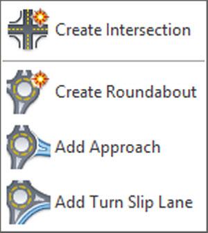 opcoes da intersection