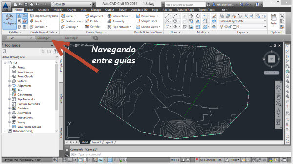 guias civil 3d